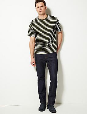 Big & Tall - Jeans elásticos de ajuste estándar, AÑIL, catlanding