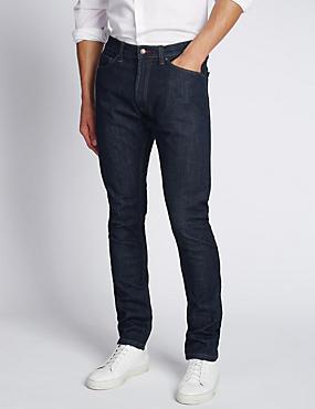 Slim Fit StayNEW™ Stretch Jeans, INDIGO, catlanding