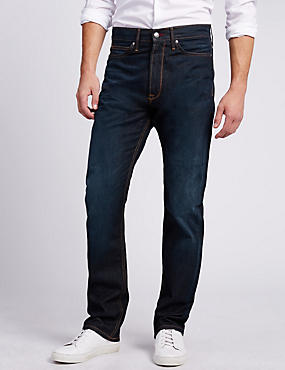Washable Look Regular Fit Jeans