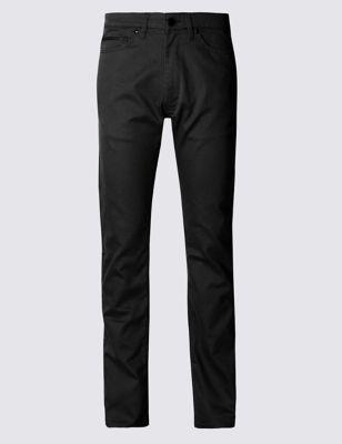 Прямые брюки Climate Control в джинсовом стиле Blue Harbour T171352B