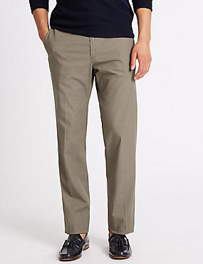 Tailored Fit Cotton Rich Chinos, STONE, catlanding