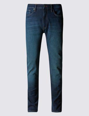 Зауженные джинсы мультистретч Blue Harbour T171371B