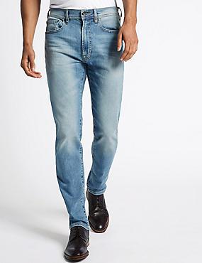 Tapered Fit Jeans, LIGHT BLUE, catlanding