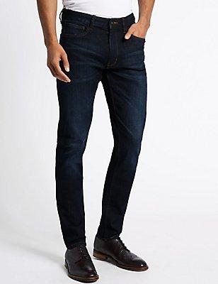 Slim Fit Jeans, INDIGO, catlanding