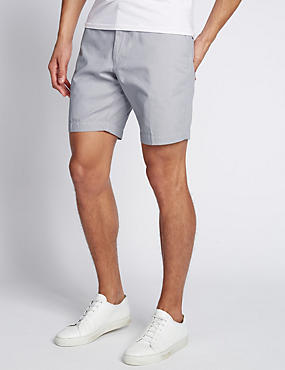 Pure Cotton Mini Spotted Shorts