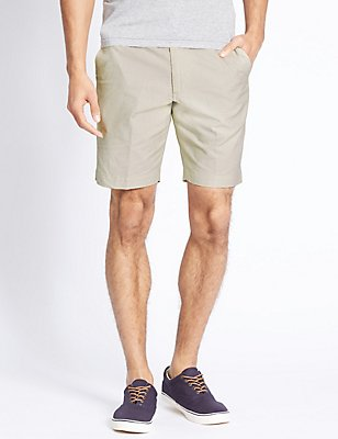 Pure Cotton Striped Shorts, NATURAL MIX, catlanding