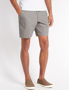 Pure Cotton Printed Shorts, GREY MIX, catlanding