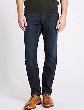 Slim Fit Jeans, DARK INDIGO, catlanding