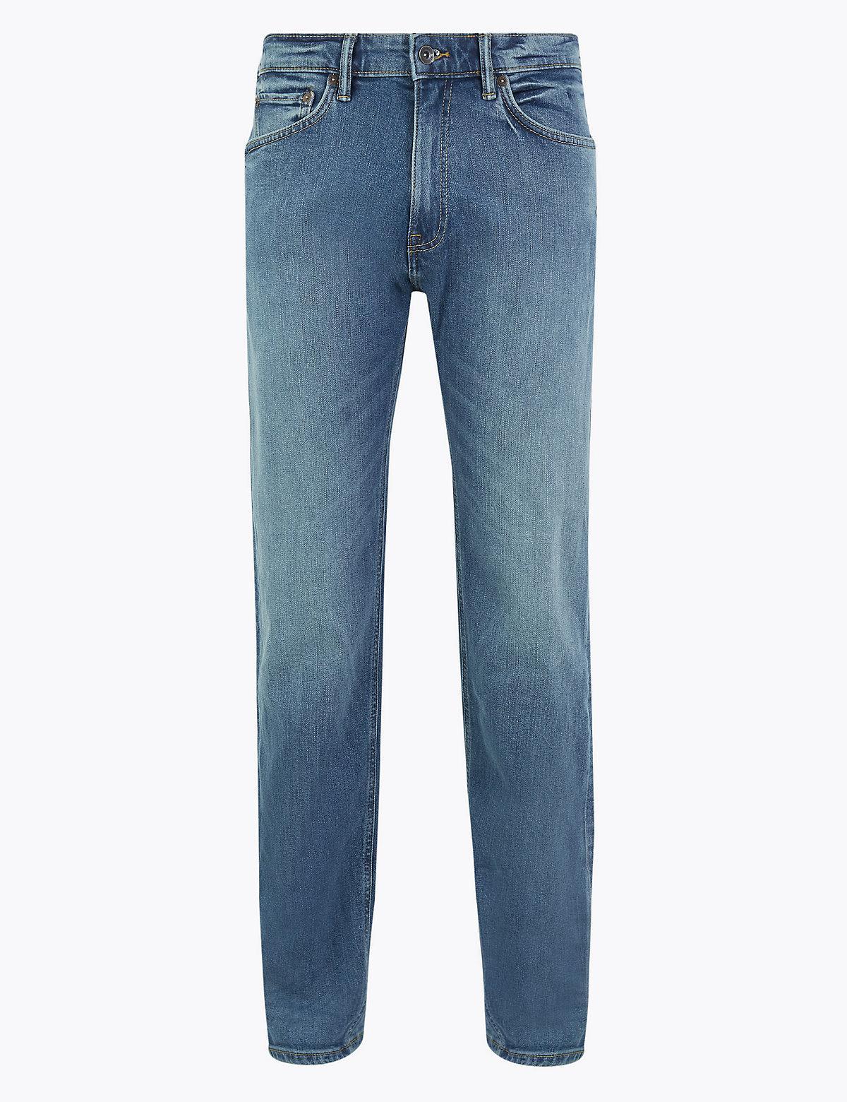 Прямые винтажные джинсы