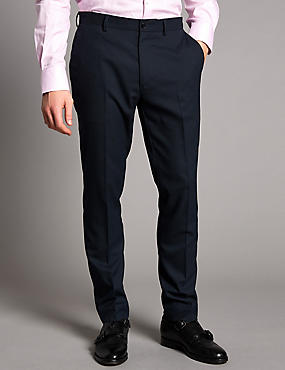 Slim Fit Textured Chinos, BLACK/WHITE, catlanding