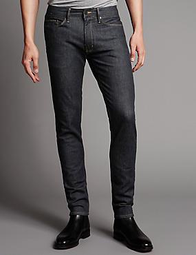 Skinny Fit Jeans, INDIGO, catlanding