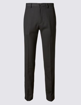 Зауженные офисные брюки со стрелками Supercrease M&S Collection T173227M