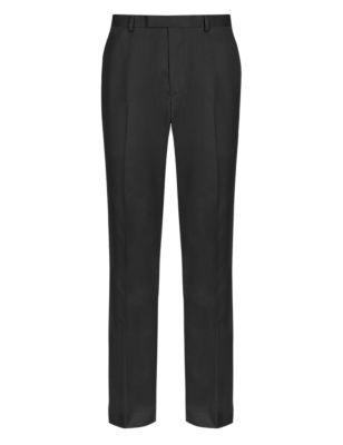 Зауженные брюки без защипов с фронтальным карманом с клапаном