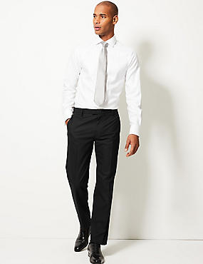 Tailored Fit Trousers, BLACK, catlanding