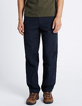 Regular Fit Trekking Trousers, NAVY, catlanding
