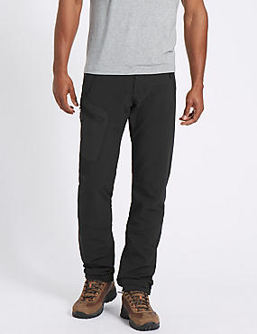 Regular Fit Trekking Trousers, BLACK, catlanding