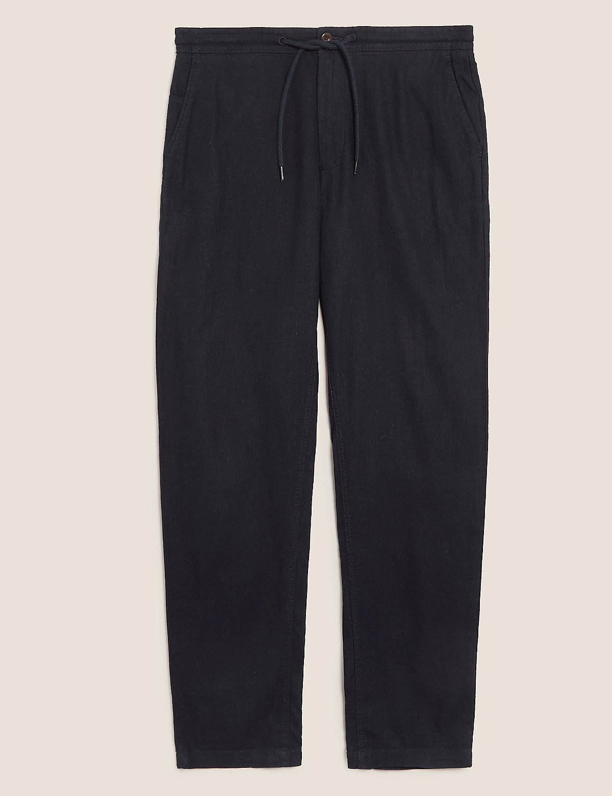 Классические льняные брюки