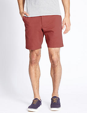 Pure Cotton Shorts, ROSE, catlanding