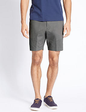 Pure Cotton Shorts, GREY, catlanding