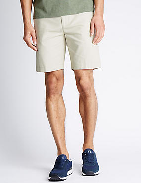 Pure Cotton Shorts, LIGHT STONE, catlanding