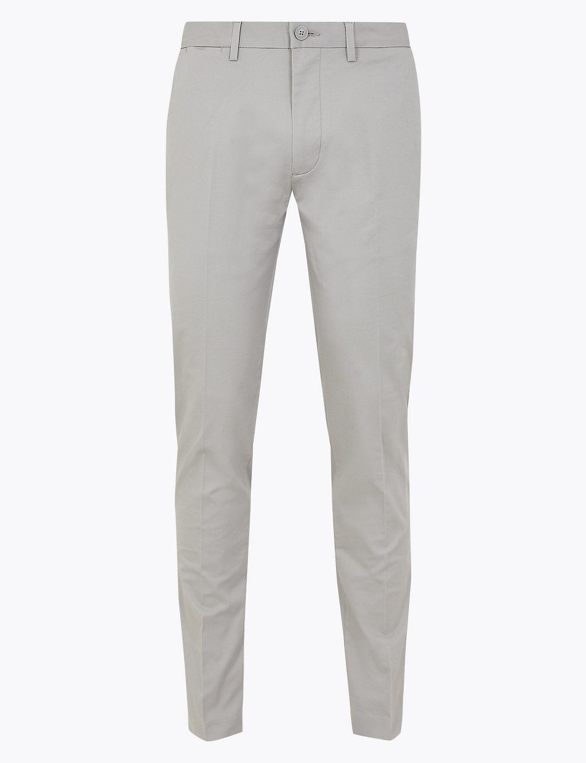Мужские хлопковые брюки чинос