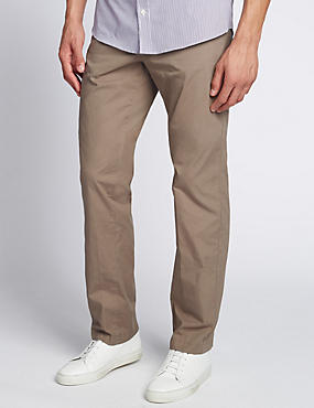 Cotton Rich Super Lightweight Chinos, TAUPE, catlanding