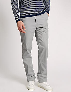 Super Lightweight Regular Fit Chinos, WHITE MIX, catlanding