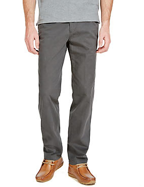Cotton Rich Regular Fit Chinos