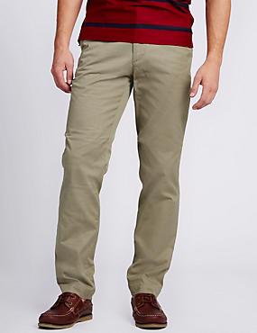 Premium Lightweight Tailored Fit Chinos, STONE, catlanding