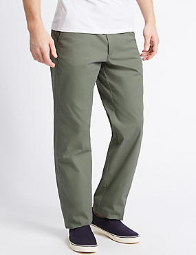 Big & Tall Regular Fit Chinos, SAGE, catlanding