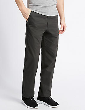 Big & Tall Regular Fit Chinos, CHARCOAL, catlanding