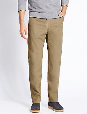 Regular Fit Super Lightweight Chinos, TAUPE, catlanding