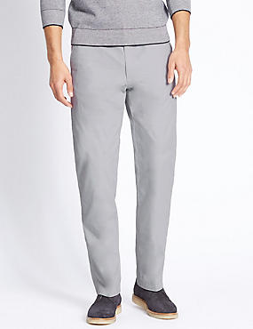 Regular Fit Super Lightweight Chinos, LIGHT GREY, catlanding