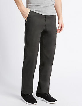 Regular Fit Super Lightweight Chinos, CHARCOAL, catlanding