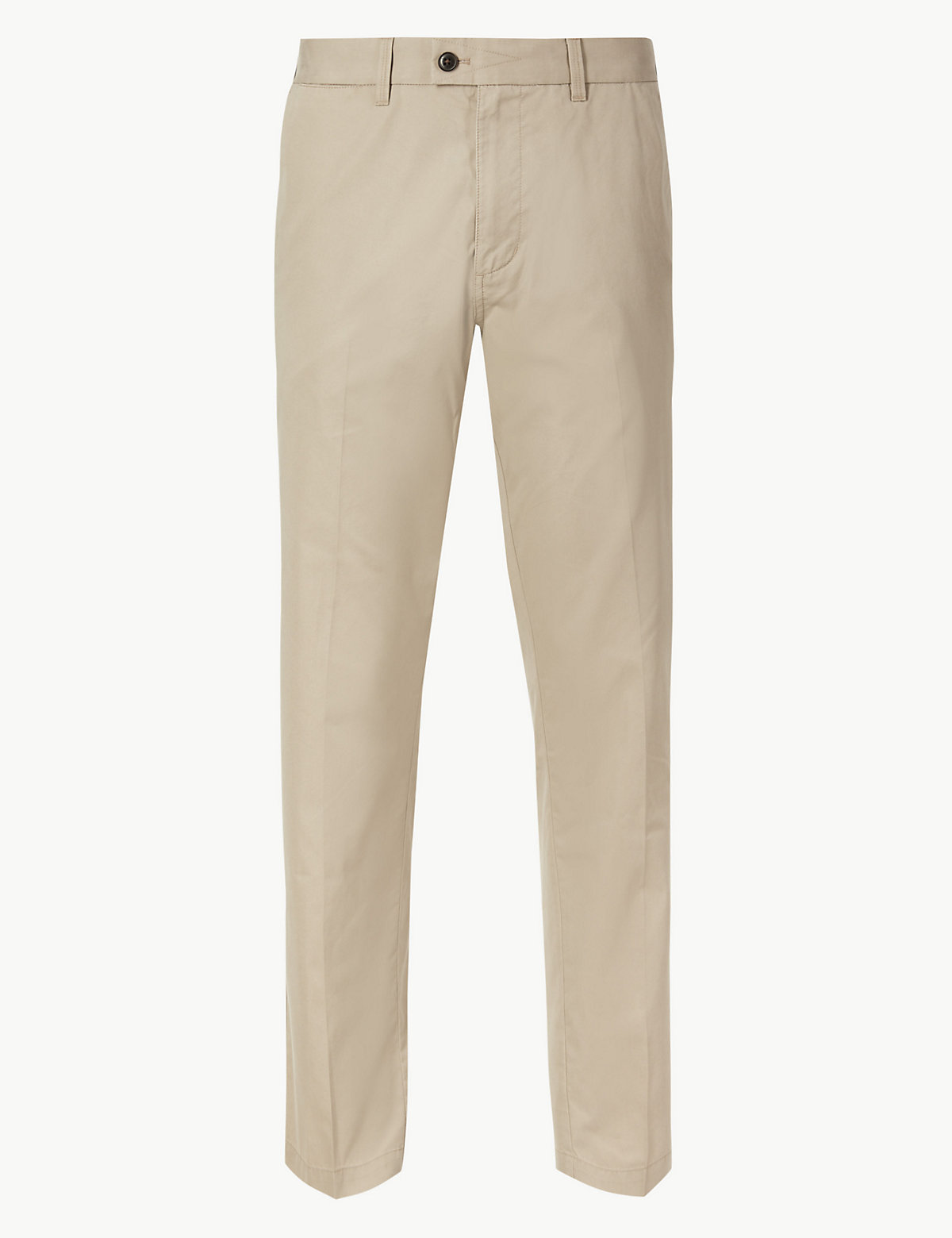 Мужские брюки чинос классического кроя Blue Harbour. Цвет: природный камень