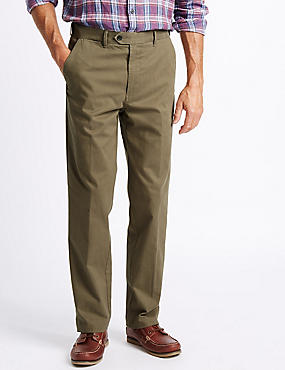 Big & Tall Cotton Rich Chinos, DARK STONE, catlanding
