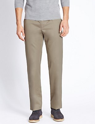 Supima Cotton Wrinkle Free Chinos, TAN, catlanding