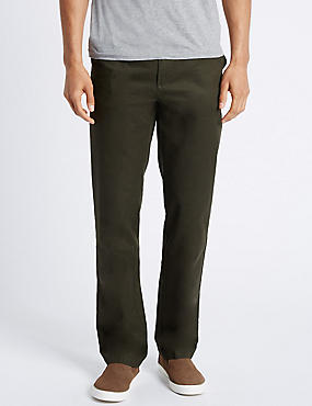 Regular Fit Chinos with Stormwear™, DARK GREEN, catlanding