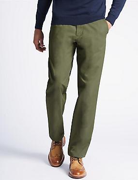 Regular Fit Chinos with Stormwear™, SAGE GREEN, catlanding