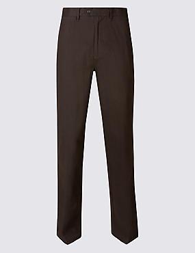 Regular Fit Chinos with Stormwear™, DARK BROWN, catlanding