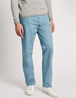 Regular Fit Chinos, PALE BLUE, catlanding
