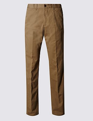 Regular Fit Chinos, TOBACCO, catlanding