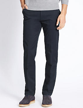 Cotton Rich Chinos, NAVY MIX, catlanding