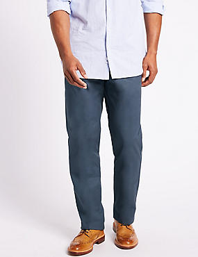Big & Tall Chinos with Stormwear™, AIR FORCE BLUE, catlanding