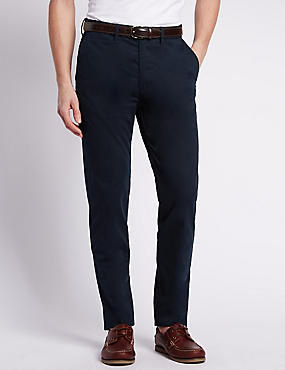Big & Tall Regular Fit Pure Cotton Chinos, NAVY MIX, catlanding