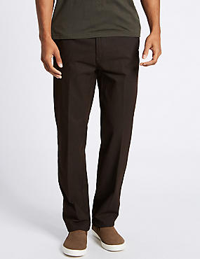 Big & Tall Chinos with Stormwear™, BROWN, catlanding