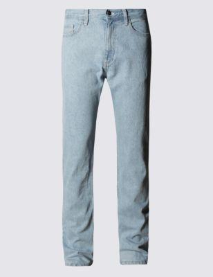 Однотонные базовые джинсы