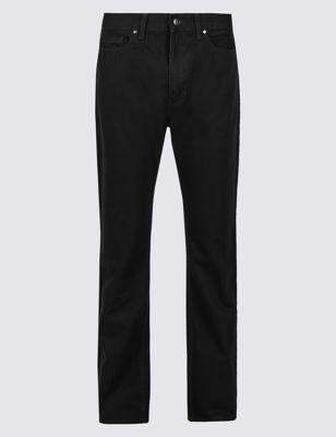 Классические джинсы из чистого хлопка M&S Collection T176534M