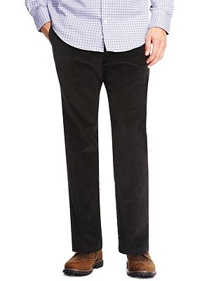 Buttonsafe™ Pure Cotton Corduroy Trousers with Stormwear™, CHARCOAL, catlanding