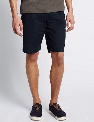Pure Cotton Shorts, NAVY MIX, catlanding
